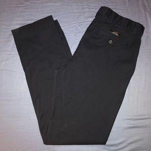 Banana Republic Aiden Chino Pants Navy Blue 34x34